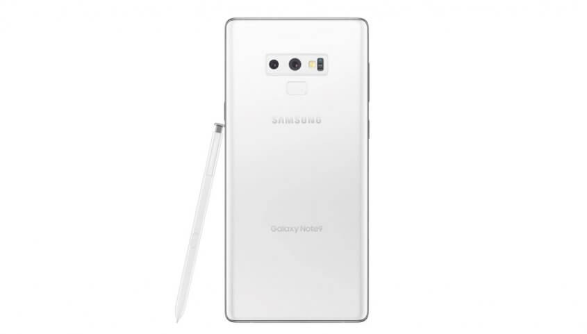 Samsung Galaxy Note 9 wit abonnement