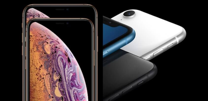 iPhone XS en XS Max versus iPhone XR telefoon.nl